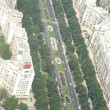Bucharest, aerial view — Foto Stock