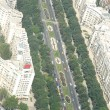 Bucharest, aerial view — Stock fotografie
