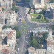 Bucharest, aerial view — Stockfoto
