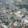 Royalty-Free Stock Photo: Bucharest, aerial view