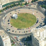 Bukarest, Luftbild — Stockfoto