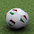 Italian soccer ball - Stock Photo