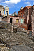 Romeins theater van catania, sicilië — Stockfoto