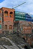 римский театр катания, сицилия — Стоковое фото