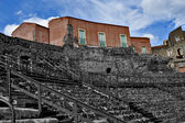 Roman Theatre of Catania, Sicily — Stock Photo