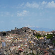 Panorama of the city of Enna — Stock Photo #10533153