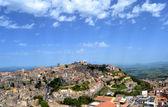 Panorama över staden enna — Stockfoto