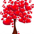 Tree of Hearts — Stock Photo