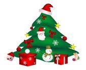 Ilustración de navidad — Vector de stock