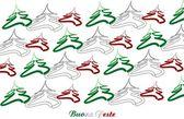 Merry Christmas Italy — Stock Vector