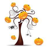 смешные хеллоуин фон — Cтоковый вектор