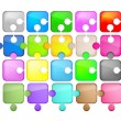 Royalty-Free Stock Vector Image: Puzzles