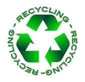 Recycling pictogram — Stockvector