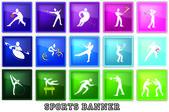 Sport — ストックベクタ