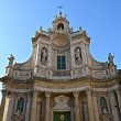 Resplendent Baroque church — Stock Photo