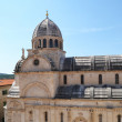 Magnificent Cathedral of St. James in Sibenik - Stockfoto