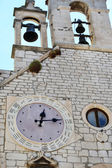 Special clock near the cathedral of Sibenik, with 24 hours — ストック写真