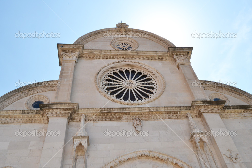 Magnificent Cathedral of St. James in Sibenik, Croatia  Stock Photo #8357314