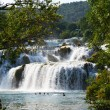 Wonderful Waterfalls of Krka Sibenik — Stock Photo #8385668