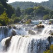 Wonderful Waterfalls of Krka Sibenik - 图库照片