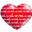 Sentiment of Love — Imagen vectorial