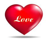 Sentimiento de amor — Vector de stock