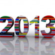 2013 World — Stock Photo