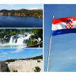 Wonderful landscapes of Croatia — Stock Photo