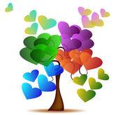 Tree of Love — Stock Vector