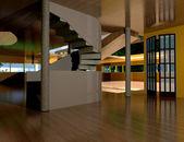 Inside the house — Стоковое фото