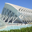A city of arts and sciences  in Valencia — Stock Photo