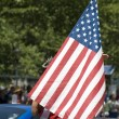 Stock Photo: Parade on Fourth of July in Washington DC.