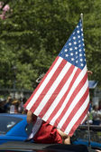 Parade on Fourth of July in Washington DC. — Foto de Stock