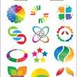 Colorful Logo Pack — Stock Vector