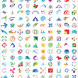 Royalty-Free Stock ベクターイメージ: Vector logo & design elements Pack