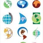 World Logo Pack — Stock Vector