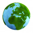 Grass earth - europe — Stock Photo