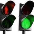Crosswalk lights — Stock Photo