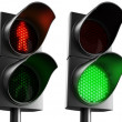 Crosswalk lights - Stock Photo