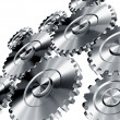 Cog wheels - Stock Photo