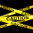 Royalty-Free Stock Photo: Caution tape