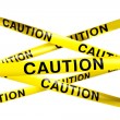 Caution tape — Stock Photo