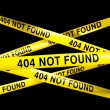 404 not found - Stock Photo