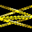 POLICELINE DO NOT CROSS — Stock Photo