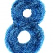 8 in blue fur - Photo