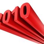 Year 2010 — Stock Photo