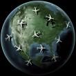 plan över Nordamerika — Stockfoto