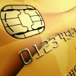 Gold Credit Card — Stock Photo #8288917