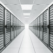Server room — Stock Photo #8289028