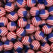 Stock Photo: American Soccer balls
